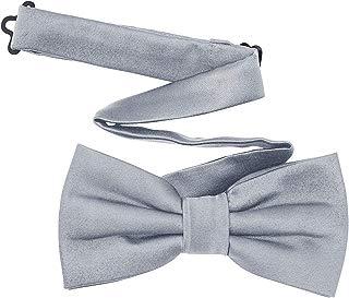 Men's Pre-Tied Satin Formal Tuxedo Bowtie Adjustable Length Satin Bow Tie