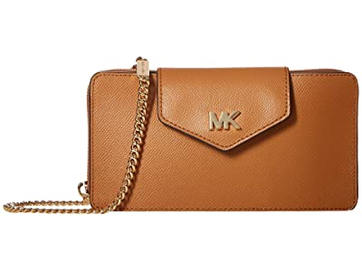 MICHAEL Michael Kors Small Convertible Phone Crossbody (Acorn) Handbags