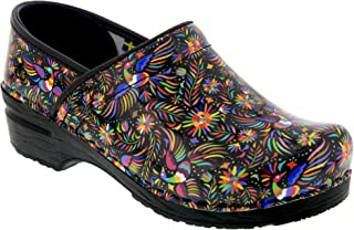 Bjork Professional Araceli Mexican Art Leather Clogs