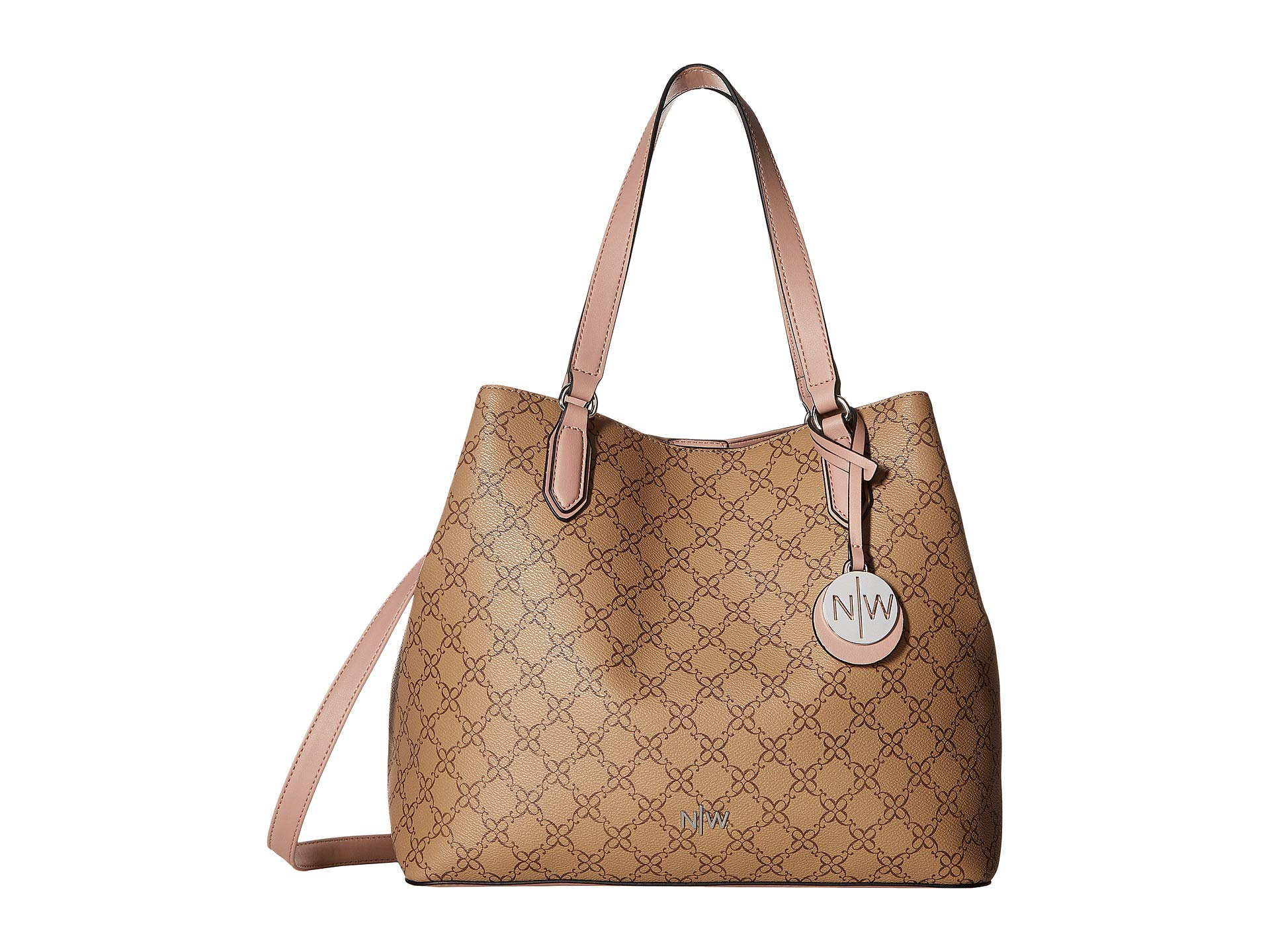 West Mocha Tote Bryn Nine West Bryn Tote Nine wqnH8UF1