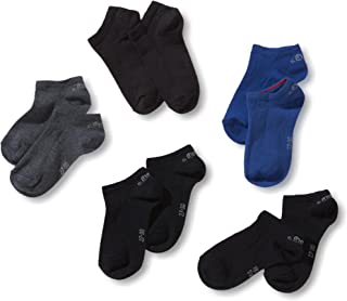 Calcetines cortos para niño, pack de 5, talla 27-30, color multicolor (34 navy combi: dark blue, blue, jeans, navy, navy)