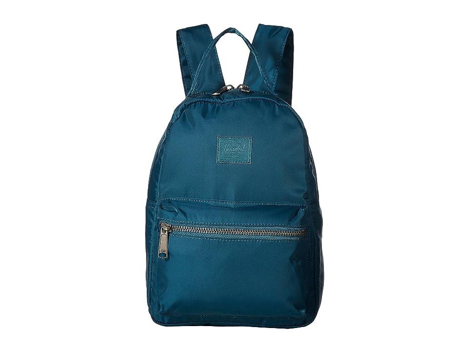 Herschel Supply Co. Nova Mini (Deep Teal) Backpack Bags