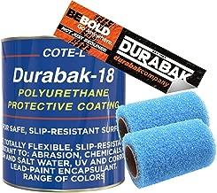 Dark Gray Textured, Outdoor, UV Resistant, Truck Bed Liner Gallon KIT - Roll On Coating | DIY Custom Coat for Bedliner and Undercoating, Auto Body, Automotive Rust Proofing, Boat Repair