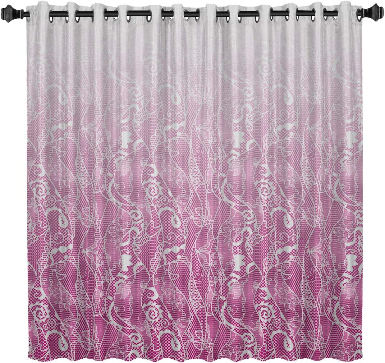 Cash special price BedSweet Brand Cheap Sale Venue Blackout Room Darkening Curtains 52 Inch 96 by Gradual