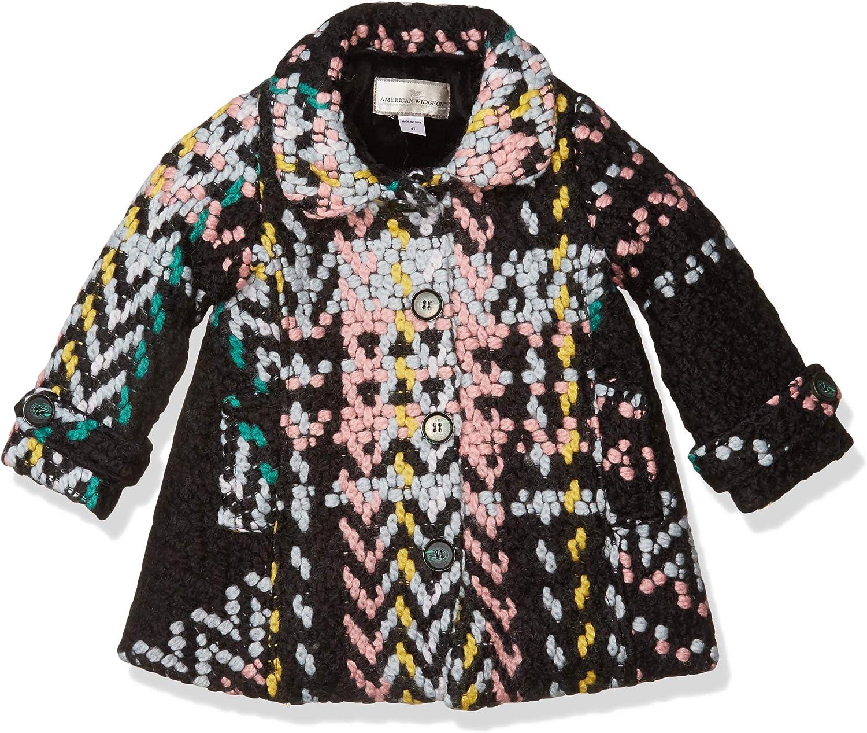 Widgeon Girls' Button-up Car Coat 3732