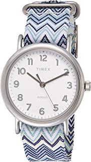 Timex Women's Quartz Watch, Analog Display and Textile Strap TW2R59200