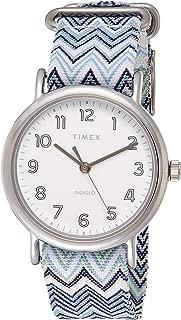 Timex Women's Quartz Watch, Analog Display and Textile Strap TW2R59200