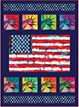 Robert Kaufman Patriots United We Stand Quilt Kit 46 by 63 inches