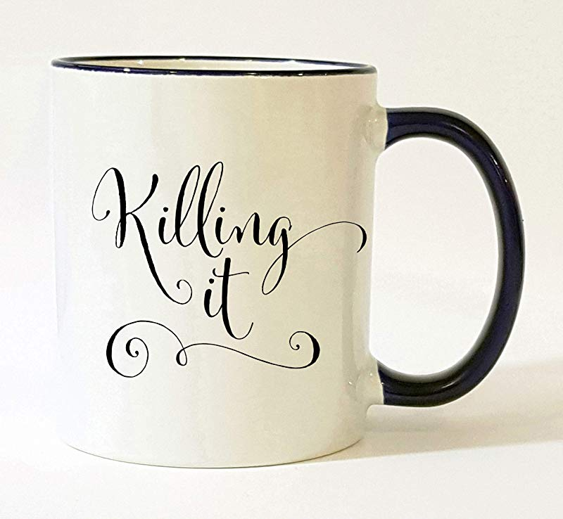 Killing It Mug New Job Gifts For Women Entrepreneur Woman Congratulations Gift