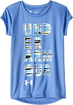 UA Wordmark Short Sleeve (Little Kids)