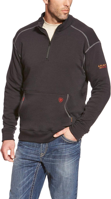 Ariat FR Polartec Fleece 1/4 Zip Top - Men's Flexible Midlayer Sweater