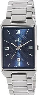 Titan Karishma Analog Blue Dial Men's Watch - 1777SM02