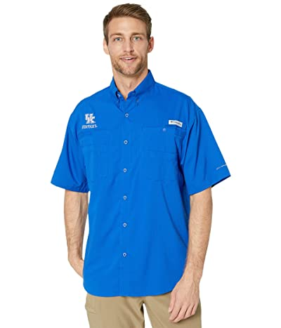 Columbia College Kentucky Wildcats CLG Tamiamitm Short Sleeve Shirt (Azul) Men