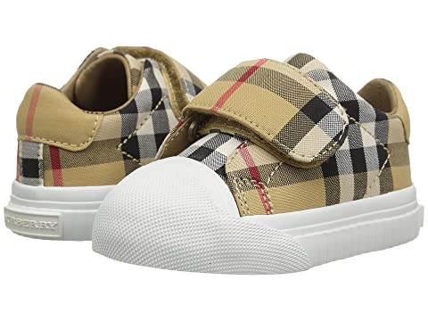 Burberry Kids Beech Check Trainer (Infant/Toddler)