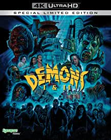 Horror Classics DEMONS and DEMONS 2 arrive on 4K and Blu-ray in the USA October 19th from Synapse Films and MVD