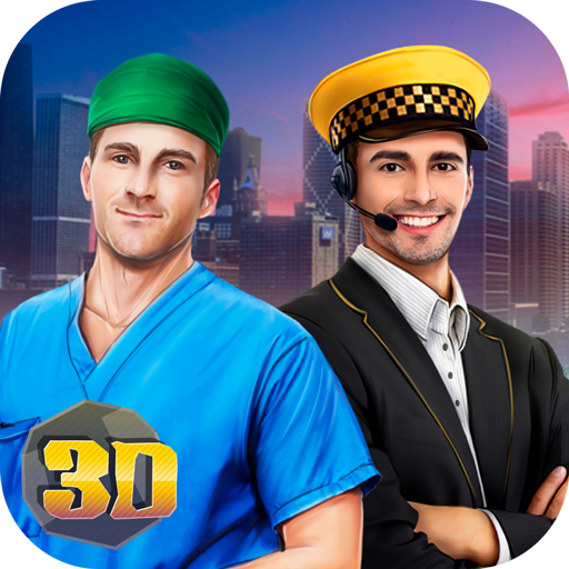 City Gangster Life Simulator: Careers and Jobs Questing Sandbox