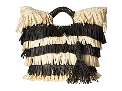 San Diego Hat Company BSB1711 Crochet Tote (Natural) Tote Handbags