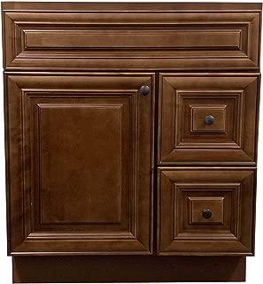 New Maple walnut Single-sink Bathroom Vanity Base Cabinet 30