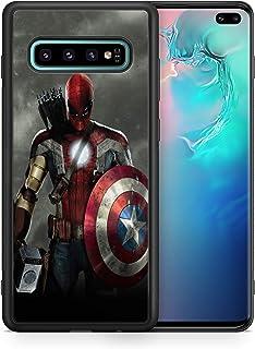 Inspired by Iron Man Avengers Samsung Galaxy S8 S9 9 Plus S10 S10e S10 Plus Case Samsung 8 9 10 Galaxy Case Comics Super hero Logo M50