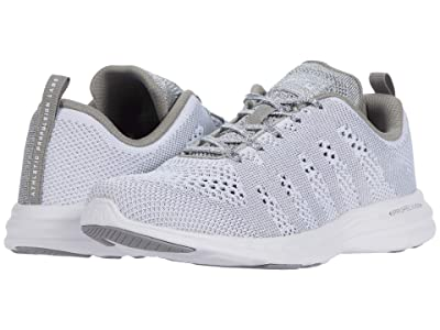 Athletic Propulsion Labs (APL) Techloom Pro (White/Metallic Silver/White) Women