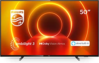 "Philips - - Our Best Sellers - Smart TV Philips 50PUS7805 50"" 4K Ultra HD LED WiFi Black"