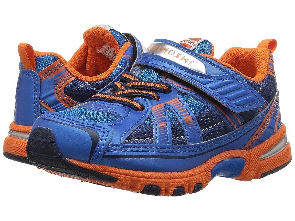 Tsukihoshi Kids Storm (Toddler/Little Kid) (Blue/Orange) Boys Shoes