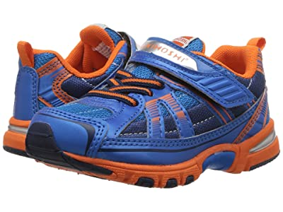 Tsukihoshi Kids Storm (Toddler/Little Kid) (Blue/Orange) Boys Shoes
