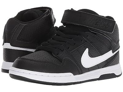 Nike SB Kids Mogan Mid 2 Jr (Little Kid/Big Kid) (Black/White) Boys Shoes