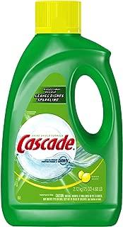 Cascade Gel Dishwasher Detergent, Lemon Scent, 75-Ounce (Pack of 2)