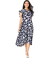 Kate Spade New York - Splash Flutter Sleeve Dress