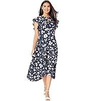5d0135cb34c7 Kate Spade New York - Splash Flutter Sleeve Dress