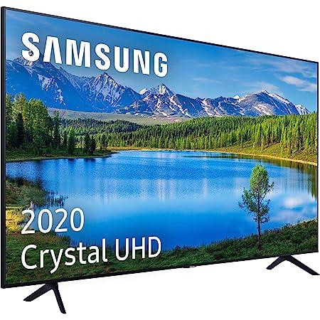 """Samsung Crystal UHD 2020 50TU7095 - Smart TV de 50"""" con Resolución 4K, HDR 10+, Crystal Display, Procesador 4K, PurColor, Sonido Inteligente, Función One Remote Control y Compatible Asistentes de Voz"""