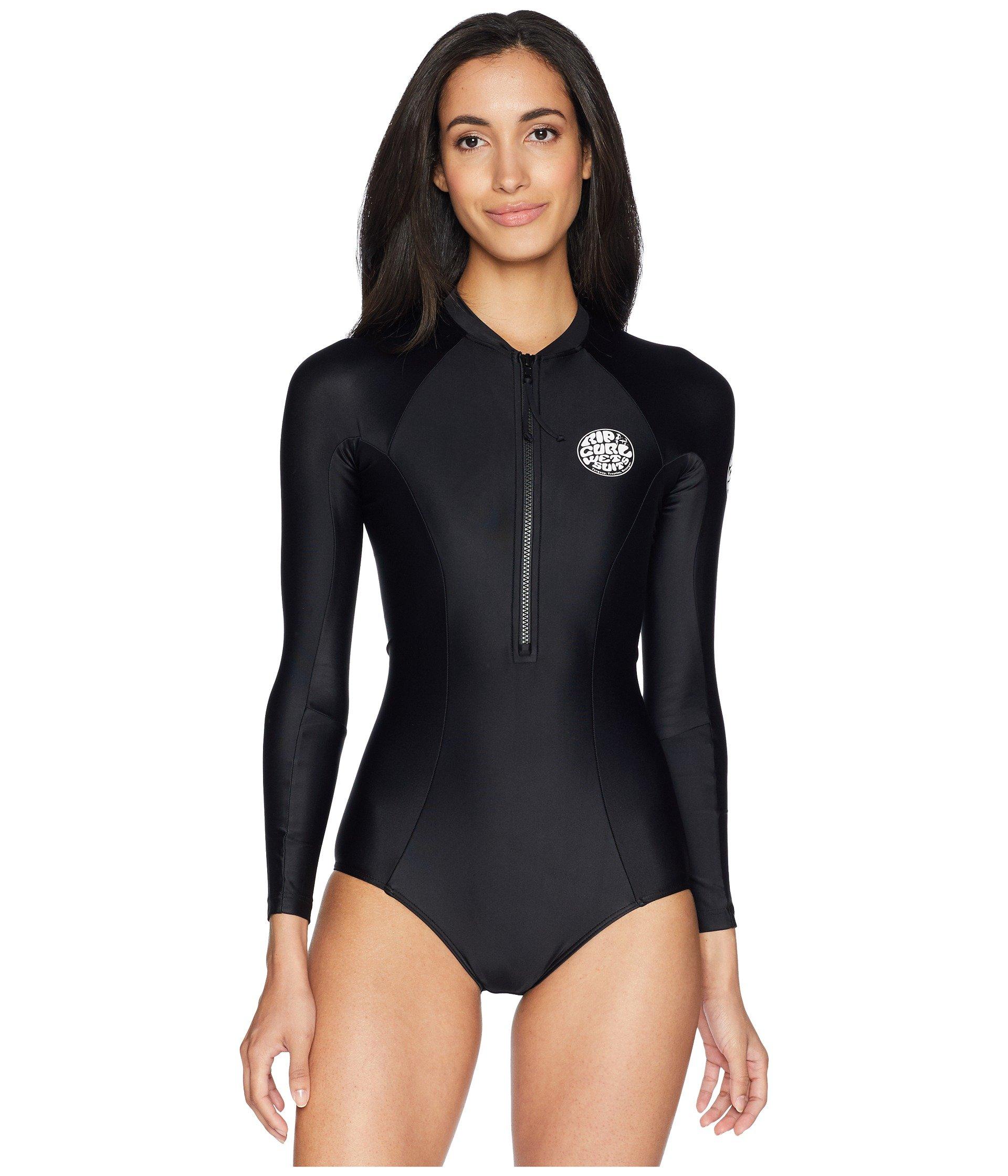 Surfsuit Long Uv Curl Bomb Black Sleeve Rip G ZqwpYxRcO