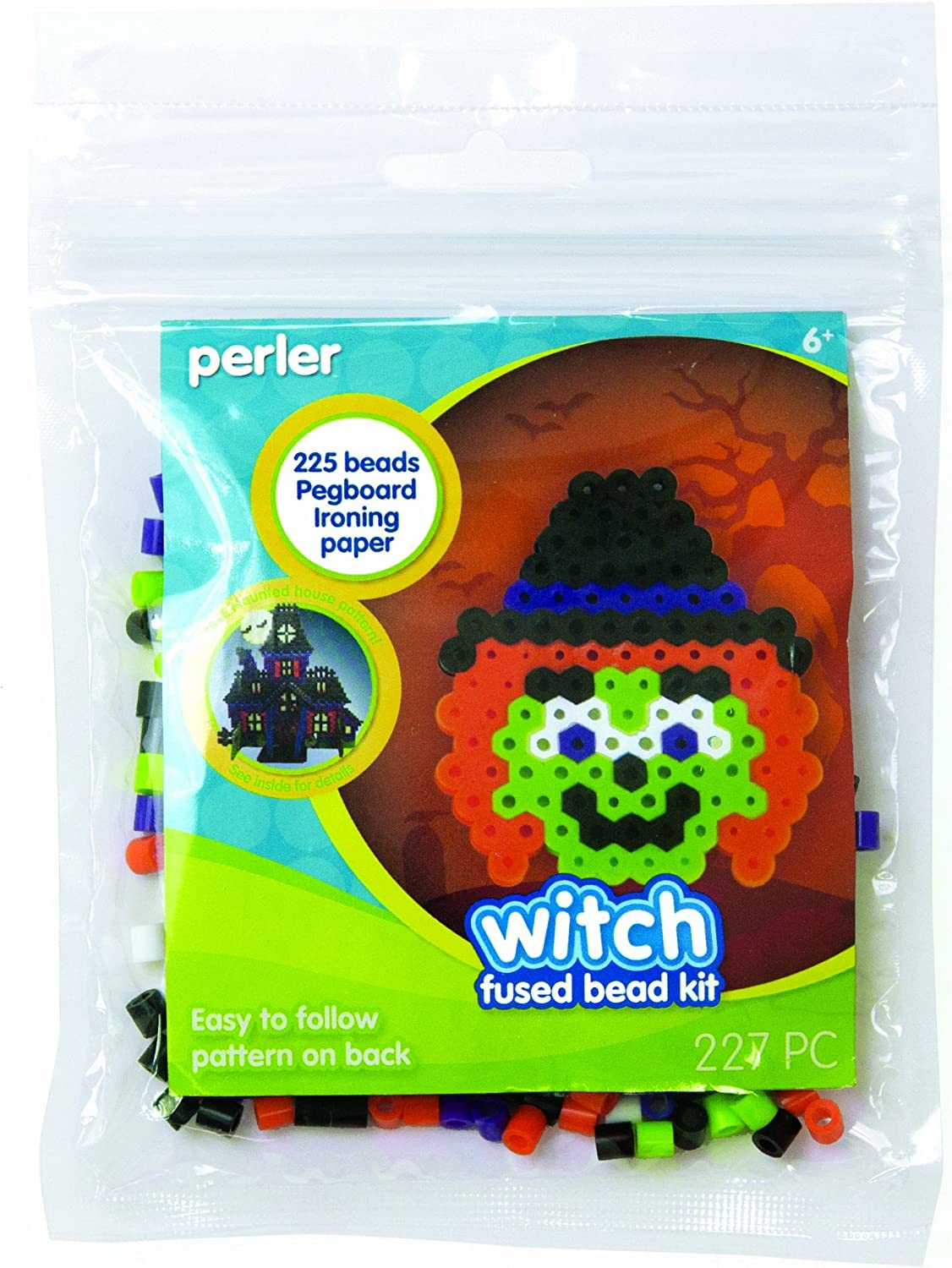 Perler Cheap super special price Fused Beads Kit Regular dealer Witch