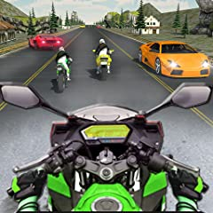 Real Bike Racing Ultra Rider 2018 Features: 🏍️ Real city to race Moto bike in it 🏍️ 3D environment will attract you to play it again and again 🏍️ Heavy motorbike to race 🏍️ Smooth and realistic controls 🏍️ Boosting speed feature 🏍️ Driving bike in Su...