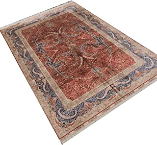 Camel Carpet Home Decor Fine Silk Hand Made Turkish Rugs for Sale 6'x9'