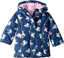 Skater Girl Puffer Coat (Toddler/Little Kids/Big Kids)