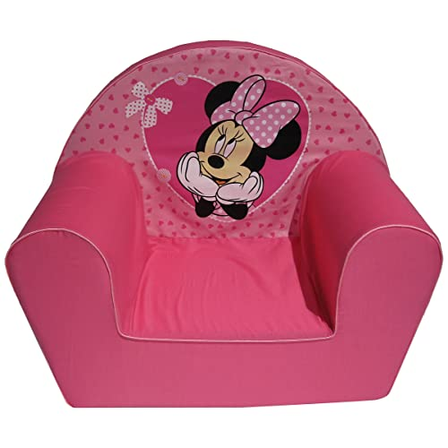 Disney Fauteuil Minnie avec Petits Coeurs
