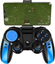Mobile Game Controller, Wireless Gaming Controller Gamepad for Android iOS for Samsung Huawei iPhone with Retractable Bracket Support 4-6 inch Mobile Phones
