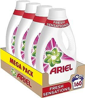 Ariel Vloeibaar wasmiddel, 160 wasbeurten (pak 4 x 40), geurontdekkingen