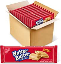 Nutter Butter Peanut Butter Wafer Cookies, 12 - 10.5 oz packages
