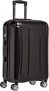 AmazonBasics - Oxford - Valise rigide à roulettes pivotantes - 68 cm, Noir