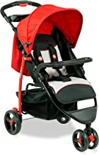 Fisher-Price Rover Steel Stroller Cum Pram (Red)