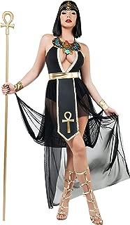 Starline Women's Empress Divine Egyptian Princess, Black/Gold, Large
