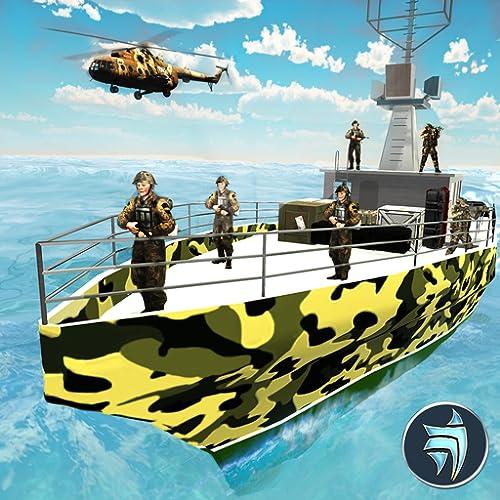 Navio de cruzeiro do exército dos EUA, dirigindo - jogo de transporte do exército