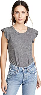 Women's Flutter Sleeve Shirttail Tee