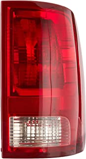 Dependable Direct Right Passenger Side Tail Light Lens & Housing for 2009-2017 Dodge Ram 1500 and 2010-2017 RAM 2500, 3500 CH2819124