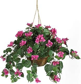 Best faux flower baskets Reviews
