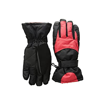 Tundra Boots Kids Nylon Gloves (Red) Extreme Cold Weather Gloves