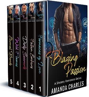 Blazing Passion: A Steamy Romance Series (Books 1-5)